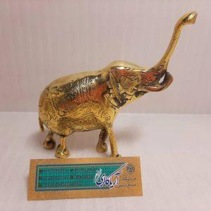 مجسمه فیل برنجی